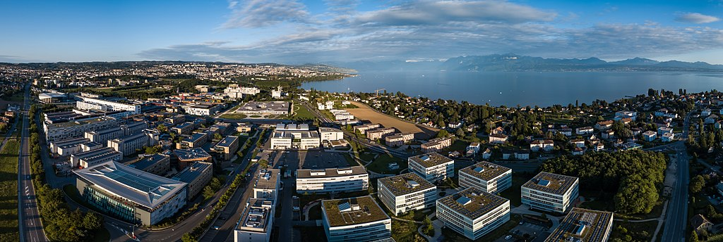 EPFL image, photo, arial